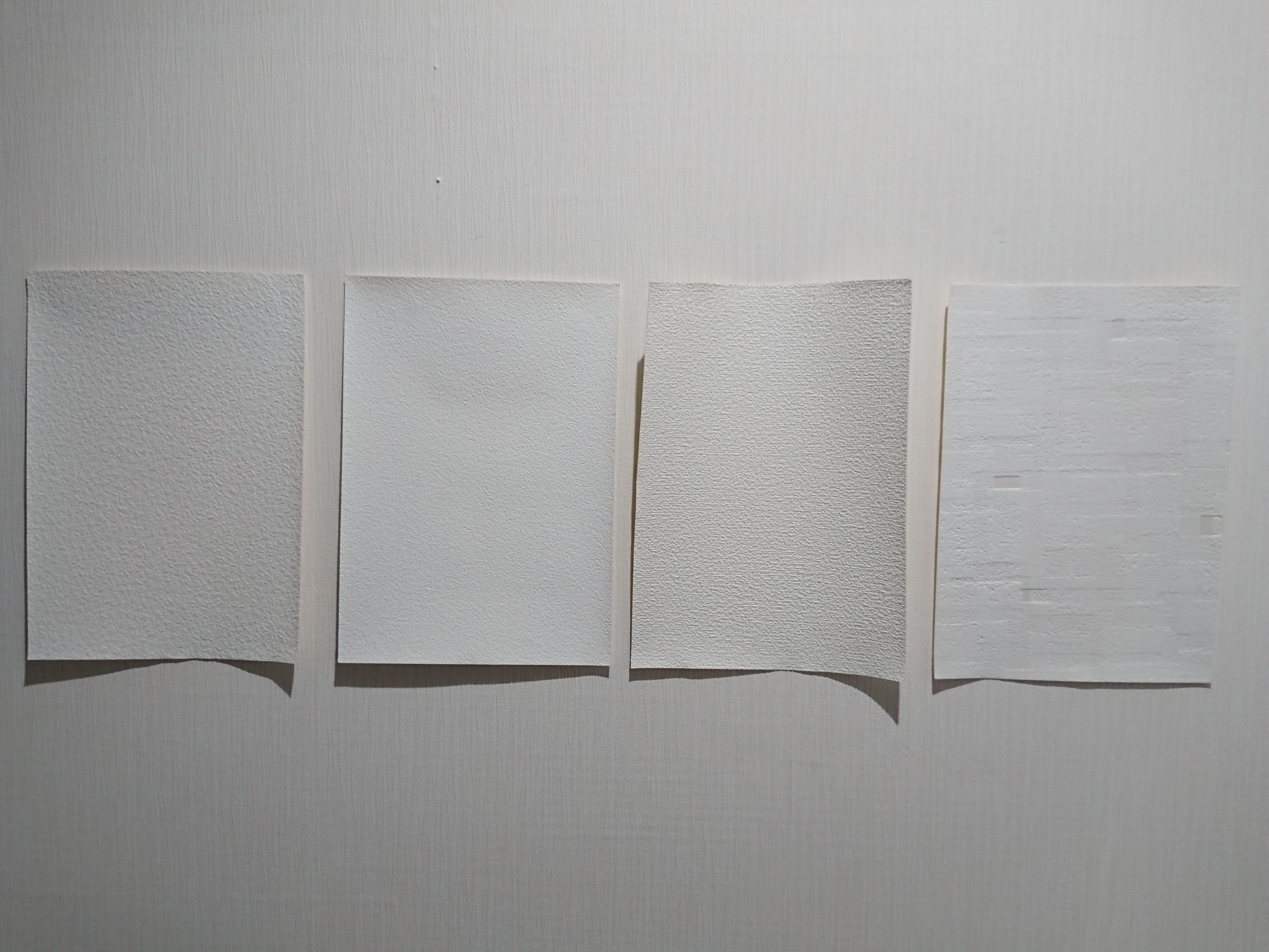 サンゲツショールームレポ 基本のホワイトクロス選び 織物調 塗り壁調 はるすけリっきっき